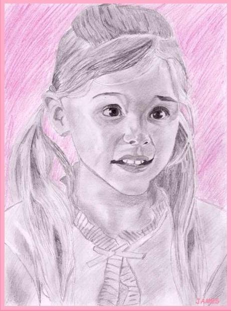 Chloë Moretz by James